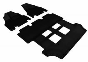3D MAXpider - U Ace 3D MAXpider HONDA ODYSSEY 2011-2017 KAGU BLACK R1 R2 L1HD03801509