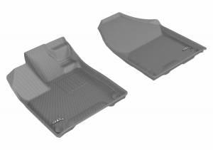 3D MAXpider - U Ace 3D MAXpider HONDA PILOT 8-PASSENGER 2016-2019 KAGU GRAY R1 L1HD07311501