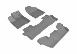 3D MAXpider - U Ace 3D MAXpider HONDA PILOT 7-PASSENGER 2016-2019 KAGU GRAY R1 R2 R3 L1HD08401501