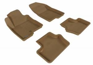 3D MAXpider - U Ace 3D MAXpider JEEP COMPASS 2007-2013 KAGU TAN R1 R2 L1JP00801502