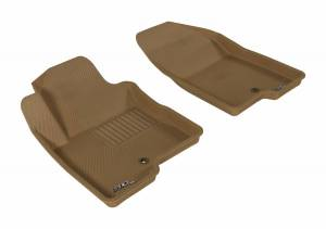 3D MAXpider - U Ace 3D MAXpider JEEP COMPASS/ PATRIOT 2007-2017 KAGU TAN R1 (1 POST ON PASSENGER SIDE) L1JP00911502