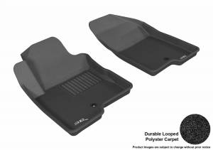 3D MAXpider - U Ace 3D MAXpider JEEP COMPASS/ PATRIOT 2007-2017 KAGU BLACK R1 (1 POST ON PASSENGER SIDE) L1JP00911509
