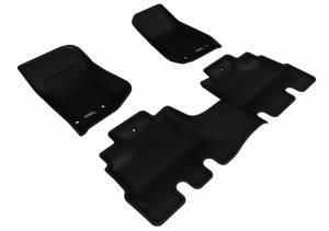 3D MAXpider - U Ace 3D MAXpider JEEP WRANGLER UNLIMITED 2014-2018 KAGU BLACK R1 R2 L1JP01101509