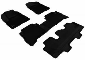 3D MAXpider - U Ace 3D MAXpider KIA SORENTO 7-SEATS 2011-2013 KAGU BLACK R1 R2 R3 L1KA00901509