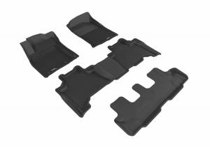 3D MAXpider - U Ace 3D MAXpider LEXUS GX460 2014-2019 KAGU BLACK R1 R2 R3 L1LX05701509