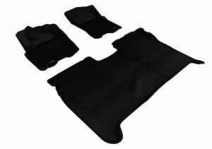 3D MAXpider - U Ace 3D MAXpider NISSAN TITAN 2009-2015 CREW CAB KAGU BLACK R1 R2 (WITHOUT STORAGE BOX) L1NS06301509