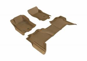 3D MAXpider - U Ace 3D MAXpider NISSAN PATHFINDER 2005-2012 KAGU TAN R1 R2 L1NS06501502