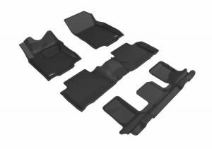 3D MAXpider - U Ace 3D MAXpider NISSAN ROGUE 2014-2018 KAGU BLACK R1 R2 R3 L1NS10101509