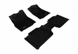 3D MAXpider - U Ace 3D MAXpider TOYOTA TACOMA ACCESS CAB 2012-2015 KAGU BLACK R1 R2 W/STORAGE BOX L1TY09101509