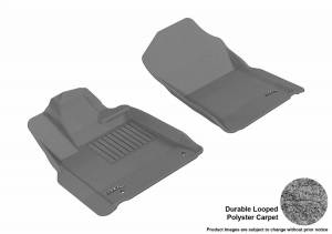 3D MAXpider - U Ace 3D MAXpider TOYOTA TUNDRA 2012-2018 REGULAR CAB/ DOUBLE CAB/ CREWMAX/ SEQUOIA KAGU GRAY R1 (POST) L1TY14911501