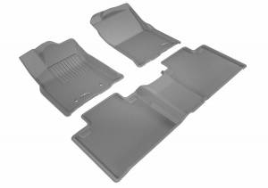 3D MAXpider - U Ace 3D MAXpider TOYOTA TACOMA ACCESS CAB 2016-2017 KAGU GRAY R1 R2 (R1 PASSENGER'S SIDE NO EYELET, R2 W/O SEAT) L1TY23101501