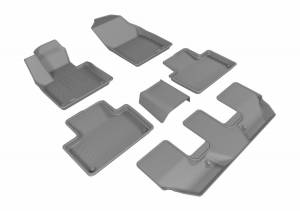 3D MAXpider - U Ace 3D MAXpider VOLVO XC90 2015-2018 KAGU GRAY R1 R2 R3 L1VV02001501
