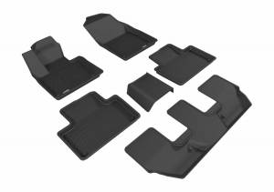 3D MAXpider - U Ace 3D MAXpider VOLVO XC90 2015-2018 KAGU BLACK R1 R2 R3 L1VV02001509