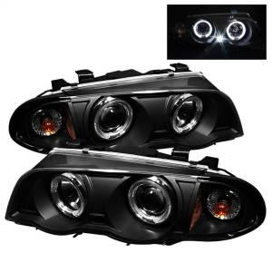 Spyder Auto - Halo Amber Projector Headlights 5008947