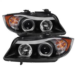 Spyder Auto - Halo Amber Projector Headlights 5009005 - Image 1