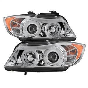 Spyder Auto - Halo Amber Projector Headlights 5009012 - Image 1