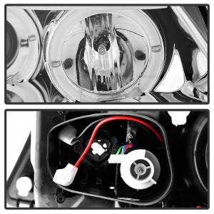 Spyder Auto - Halo Amber Projector Headlights 5009012 - Image 7