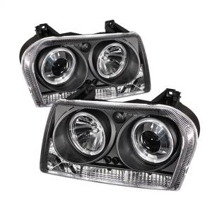 Spyder Auto - Halo LED Projector Headlights 5009180