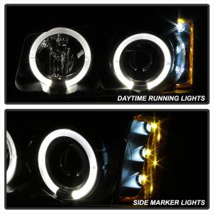 Spyder Auto - Halo LED Projector Headlights 5009456 - Image 2