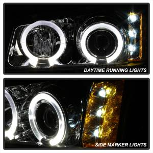 Spyder Auto - Halo LED Projector Headlights 5009463 - Image 5