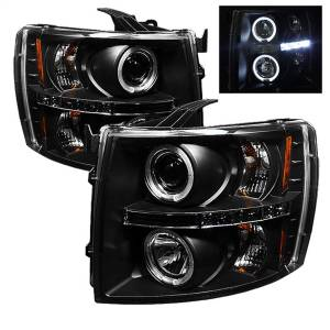 Spyder Auto - Halo LED Projector Headlights 5009494
