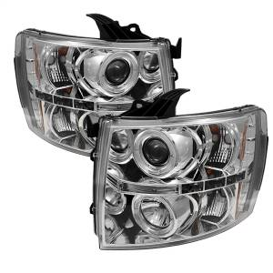 Spyder Auto - Halo LED Projector Headlights 5009500