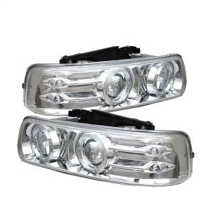 Spyder Auto - Halo LED Projector Headlights 5009609