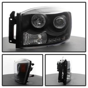 Spyder Auto - Halo LED Projector Headlights 5010001 - Image 2