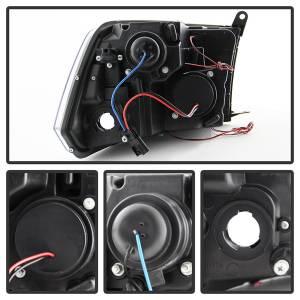 Spyder Auto - Halo LED Projector Headlights 5010032 - Image 9