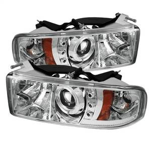 Spyder Auto - Halo LED Projector Headlights 5010094
