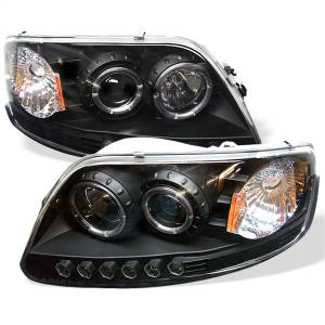 Spyder Auto - Halo LED Projector Headlights 5010261
