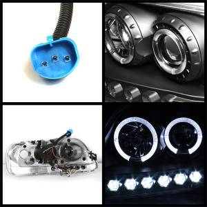 Spyder Auto - Halo LED Projector Headlights 5010261 - Image 2