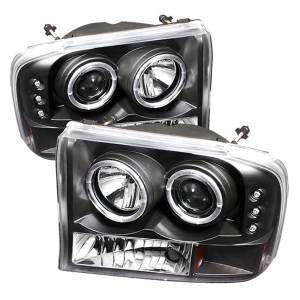 Spyder Auto - Dual Halo LED Projector Headlights 5010339