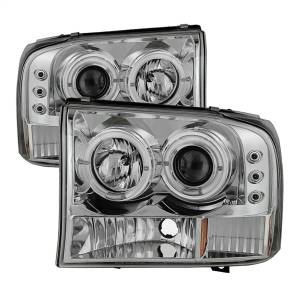 Spyder Auto - Dual Halo LED Projector Headlights 5010360 - Image 1