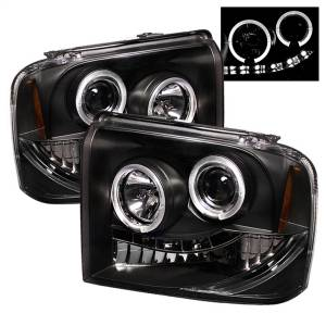 Spyder Auto - Halo LED Projector Headlights 5010544