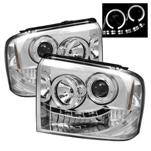 Spyder Auto - Halo LED Projector Headlights 5010551