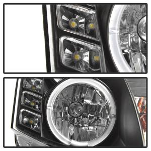 Spyder Auto - Halo DRL LED Projector Headlight 5011060 - Image 4