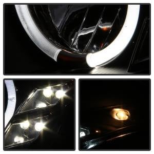 Spyder Auto - Halo DRL LED Projector Headlight 5011060 - Image 9