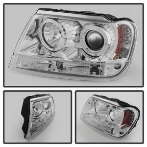 Spyder Auto - Halo LED Projector Headlights 5011152 - Image 4