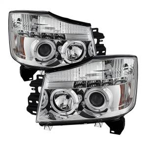 Spyder Auto - Halo LED Projector Headlights 5011589
