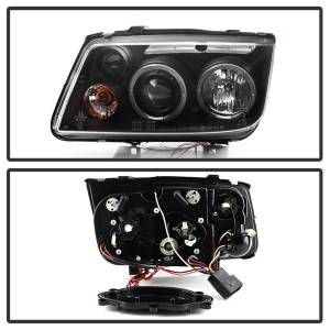 Spyder Auto - Halo LED Projector Headlights 5012258 - Image 3
