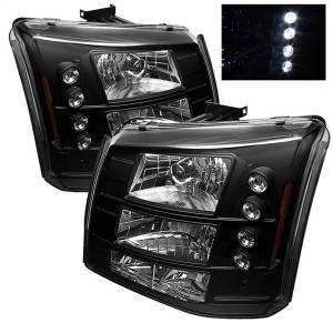 Spyder Auto - LED Crystal Headlights 5012395