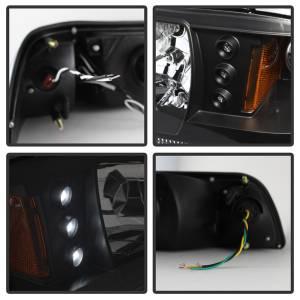 Spyder Auto - LED Crystal Headlights 5012531 - Image 3
