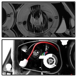 Spyder Auto - Halo Amber Projector Headlights 5009029 - Image 2