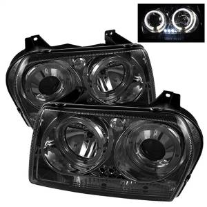 Spyder Auto - Dual Halo LED Projector Headlights 5009203