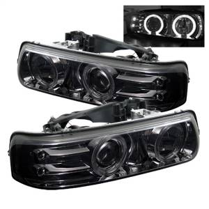 Spyder Auto - Halo LED Projector Headlights 5009616