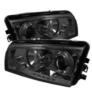 Spyder Auto - Halo LED Projector Headlights 5009753