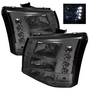Spyder Auto - LED Crystal Headlights 5012418
