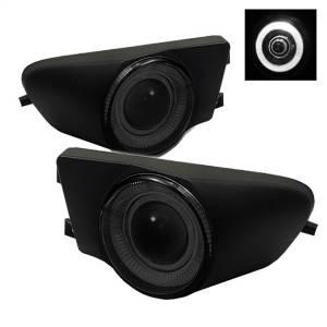 Exterior Lighting - Fog Lights - Spyder Auto - Halo Projector Fog Lights 5021182