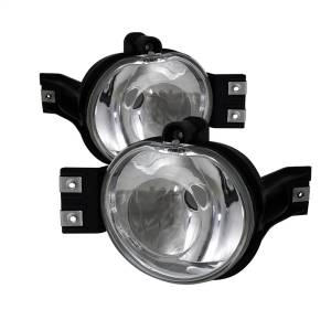 Exterior Lighting - Fog Lights - Spyder Auto - Crystal Fog Lights 5037589